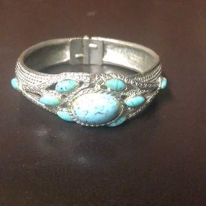 Cuff bracelet watch